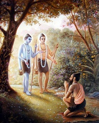 Sages Nara and Narayana