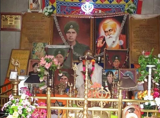 Shrine of Baba Harbhajan Singh