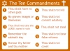 The Ten Commandments: List of Moral & Ethical principles for Good conduct