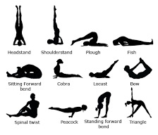 List of Yogasanas